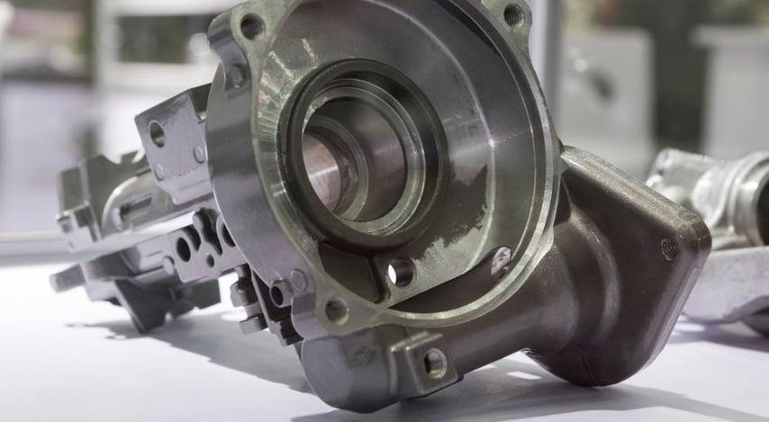 machining-aluminium-die-casting-part-picture-id899271072